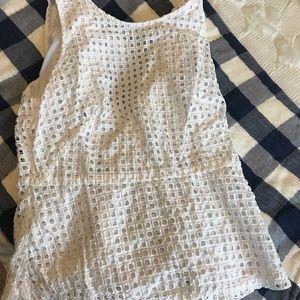 Ann Taylor peplum blouse